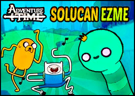 Adventure Time Solucan Ezme