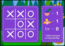 Tic Tac Toe Ben ve Holly